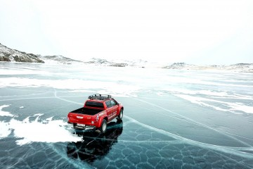 Arctic Trucks Hilux NG AT35 на Байкале